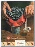 Chicago Pneumatic Tool Company 1959 Vintage Ad Oil 3-Cone Bits Reamers
