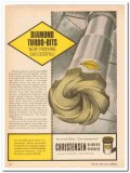 Christensen Diamond Products Company 1959 Vintage Ad Oil Turbo-Bits