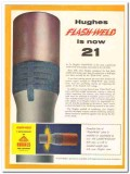 Hughes Tool Company 1959 Vintage Ad Oil Field Joint-To-Pipe Flash-Weld