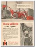 international harvester 1959 backhoe-loader 560 tractor vintage ad