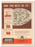 J H Williams Company 1959 Vintage Ad Oil Tool Holders Rigidity Eye