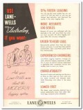 Lane-Wells Company 1959 Vintage Ad Oil Field Elgen Electrolog Logging
