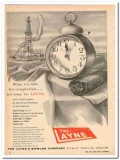 Layne Bowler Company 1959 Vintage Ad Oil Field Time Completion Tools