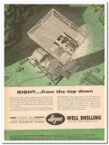 Layne Bowler Inc 1959 Vintage Ad Oil Field Water Well Right Top Down