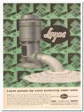 Layne Bowler Inc 1959 Vintage Ad Oil Field Water Wells Pumps Producing
