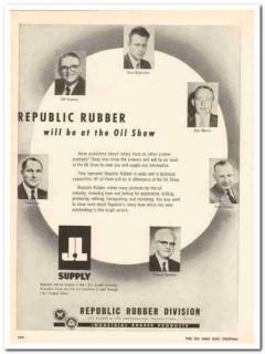 Lee Rubber Tire Corp 1959 Vintage Ad McQuiston Martin Conklin Sprinkle