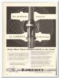 Liberty Mfg Company Texas 1959 Vintage Ad Oil Field Products Created