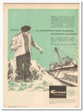 M J Crose Mfg Company 1959 Vintage Ad Pipeline Equipment International