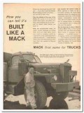 mack trucks 1959 how can tell built trim functional lines vintage ad