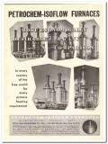 Petro-Chem Development Company 1959 Vintage Ad Oil Furnaces Economical