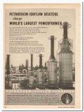 Petro-Chem Development Company 1959 Vintage Ad Oil Heaters Powerformer