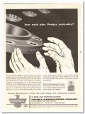 Phoenix Mfg Company 1959 Vintage Ad Oil Field Pipe Flanges Yesterday