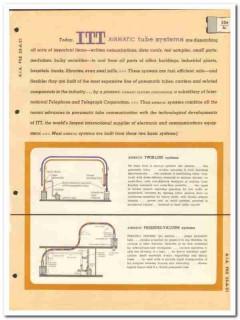 International Telephone Telegraph 1964 Vintage Catalog Airmatic ITT