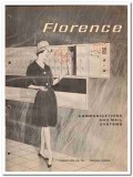 Florence Mfg Company 1964 Vintage Catalog Communications Mail Systems