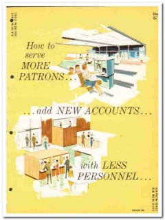 Powers Regulator Company 1964 Vintage Catalog Banking Transi-Teller