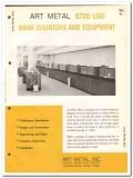 Art Metal Inc 1964 Vintage Catalog Bank Furniture Counters Equipment