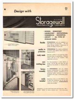 Boyd-Britton Inc 1964 Vintage Catalog Cabinets Storagewall Prefab