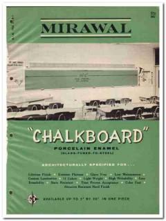 Birdsboro Corp 1964 Vintage Catalog Classroom Mirawal Chalkboard