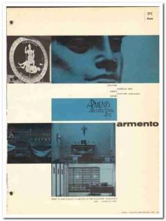 Armento Architectural Arts Inc 1964 Vintage Catalog Tablets Sculpture