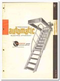 Precision Parts Corp 1964 Vintage Catalog Stairway Automatic Electric