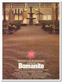 Bomanite Corp 1982 Vintage Catalog Concrete Slabs Solarpave Bomacron