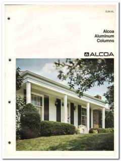 Alcoa Building Products Inc 1982 Vintage Catalog Aluminum Columns