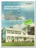 Certainteed Corp 1982 Vintage Catalog Solid Vinyl Building Products