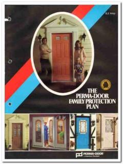 American Standard Inc 1982 Vintage Catalog Perma-Door Protection Plan