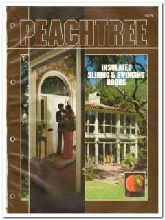 Peachtree Doors Inc 1982 Vintage Catalog Insulated Sliding Swinging