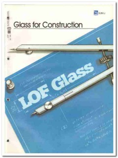 Libbey-Owens-Ford Company 1982 Vintage Catalog Glass For Construction
