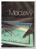 MacLevy Products Corp 1982 Vintage Catalog Fitness Steam Room Facility