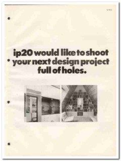IP20 of America 1982 Vintage Catalog Furniture Systems Design Project