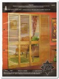 Pinecrest Inc 1982 Vintage Catalog Doors Custom Woodworking Panels