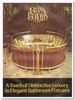 Brass Bottoms Inc 1982 Vintage Catalog Bathroom Luxury Sinks Bath Tubs