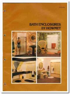 Howmet Aluminum Corp 1982 Vintage Catalog Bath Shower Enclosures