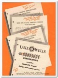 Lane-Wells Company 1950 Vintage Ad Oil Field Koneshot Perforating