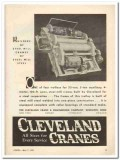 cleveland crane engineering company 1931 steel mill trolley vintage ad