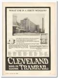 cleveland crane engineering company 1931 window washing vintage ad