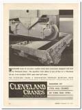 cleveland crane engineering company 1931 equalizer truck vintage ad