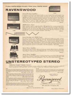 annapolis electroacoustic corp 1961 ravenswood stereo vintage ad
