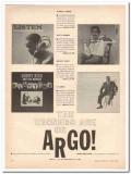 argo records 1961 winners ahmad jamal art farmer buddy rich vintage ad