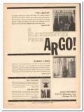 argo records 1961 blockbuster jazztet ramsey lewis buckner vintage ad