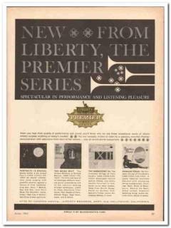 liberty records company 1961 premier series magic beat vintage ad
