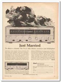 pilot radio corp 1961 model 602s stereo receiver multiplex vintage ad