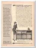 pilot radio corp 1960 curtain sound stereophonic console  vintage ad