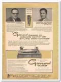 british industries corp 1960 garrard shure stereo cartridge vintage ad