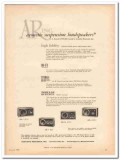 acoustic research inc 1960 ar-1 ar-3 suspension loudspeaker vintage ad