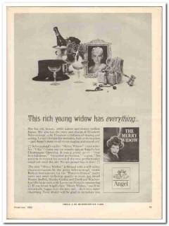 angel records 1963 emi the merry widow schwarzkopf music vintage ad