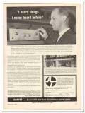 acoustic technology labs 1963 acoustech i anton schmitt vintage ad