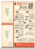 allied radio 1963 stereo hifi recording electronics catalog vintage ad